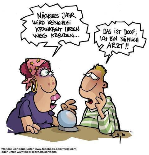 Rippenspreizer Cartoon