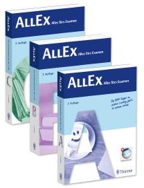 Das Lernkompendium AllEx von Thieme gibt es nun in der 2. Auflage.