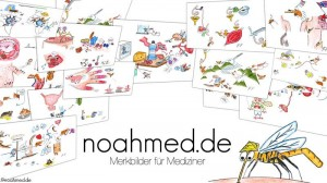 Merkbilder und Merkfilme für Medizinstudenten auf noahmed.de
