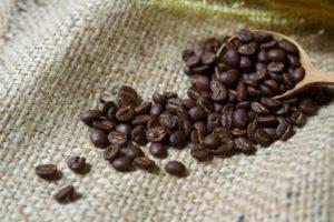 Die Kaffeebohne liefert Energie und Genuss.