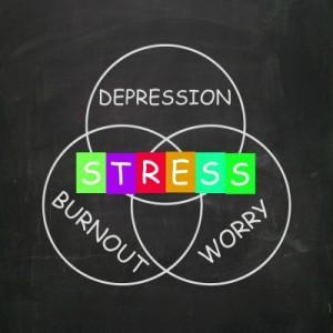 Burnout, Depression und Angst führen unweigerlich zu psychischem Stress, vor allem im Studium und im Beruf.