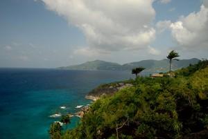 An die hohe Luftfeuchtigkeit auf den Seychellen muss man sich als Nordeuropäer erstmal gewöhnen.