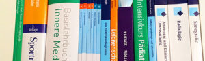 Medizinische Lehrbücher sind teuer. Wir bieten die Möglichkeit Rezensionsexemplare nach erfolgter Buchbewertung kostenlos zu behalten.