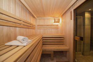Immer mehr Studenten finden Entspannung bei einem Saunagang.