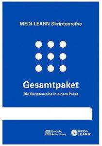 Das Gesamtpaket der MEDI-LEARN Skriptenreihe