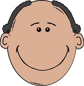 Die typische Form des Haarausfalls betrifft vor allem das Haupthaar in der Kopfmitte.