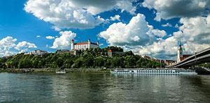 Viele Deutsche studieren in Bratislava Medizin.