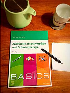 Das BASICS Anästhesie, Intensivmedizin und Schmerztherapie gibt es mittlerweile in der 5. Auflage.