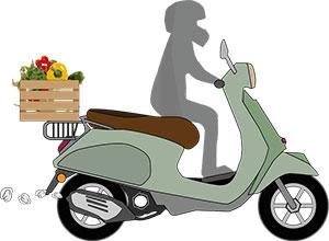Auch immer mehr Gemüsehändler liefern ihre Ware individuell nach Hause.