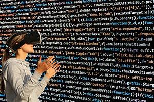Zukünftig könnte man mittels VR-Brille durch virtuelle Einkaufsläden gehen.
