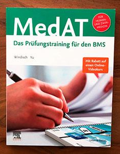 MedAT - Das Prüfungstraining für den BMS von Paul Yannick Windisch und Jiyang Yu.