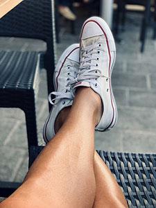 Glatte Beine gelten in der westlichen Kultur als Schönheitsideal.