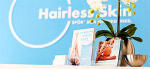 Die Experten von Hairless Skin bieten an vielen Standorten in Deutschland die neuesten Methoden der permanenten Haarentfernung an.