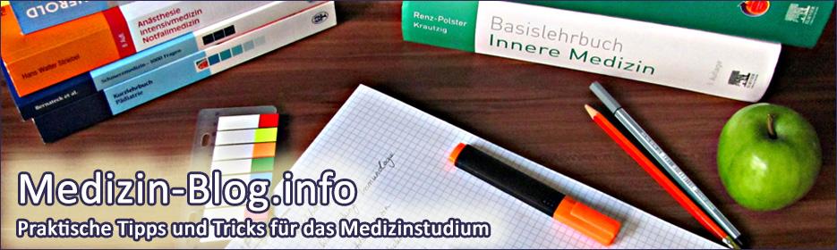 Medizin-Blog.info - Praktische Tipps und Tricks für das Medizinstudium