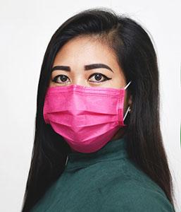 Mit Schutzmasken gegen das Coronavirus kann man auch modische Akzente setzen.